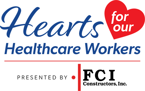 Hearts for Healthcare Workers Logo