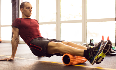 Foam Roll Calves