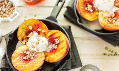 Grilled Peaches Inline