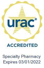 Specialty Pharmacy Accreditation Seal